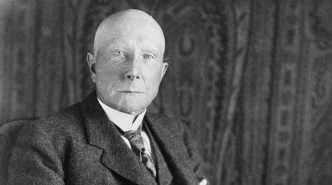 John D. Rockefeller built his fortune as the oil baron who built the Standard Oil empire. Now, some of the heirs to that substantial wealth are pledging to remove their holdings from fossil fuels and invest in a cleaner energy future. (Photo: Archive)