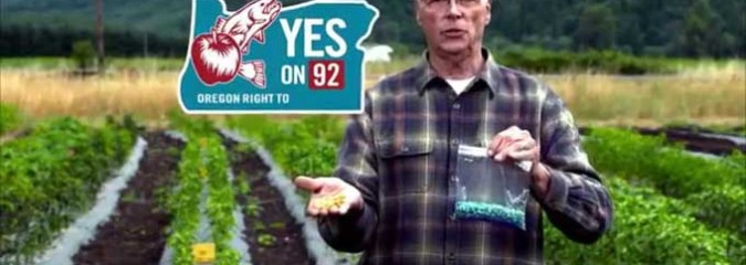 We're Beating Monsanto! Yes to GMO Labeling Prop is Winning 49 to 44 in Oregon