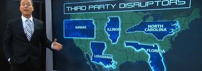 Third Party Candidates Changing Landscape Of Key Midterm Races
