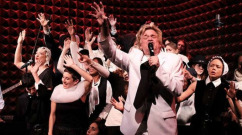 Reverend Billy and the Stop Shopping Choir at Joe's Pub in Manhattan. (Photo: Facebook)