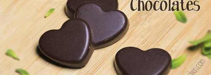 Hint of Mint Chocolates – Decadently Delicious, Vegan, No Refined Sugar