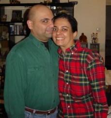 Anita and Danny Moorjani