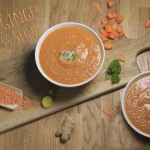 Carrot & Ginger Wellness Soup – With Coconut & Lentils