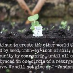 Seeds and Soil vs. the Tyranny of Corporate Power: A 2015 Message of Hope