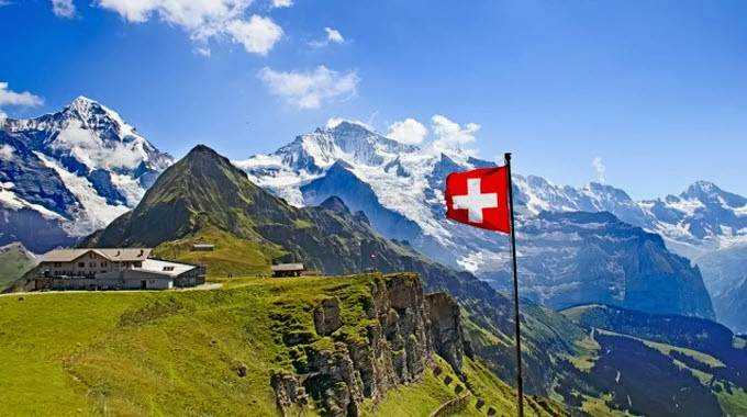 Switzerland holds the top spot on the Environmental Performance Index.