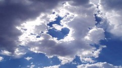 Heart shaped cloud-compressed
