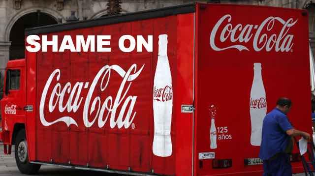shame coca cola