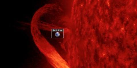 Massive Solar Filament, Why You May Soon Be Eating More GMO Produce  | Earth & Space News April 2, 2015