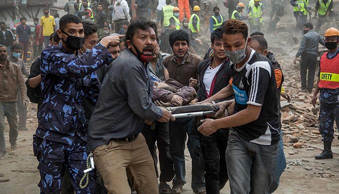 nepal emergency stretcher