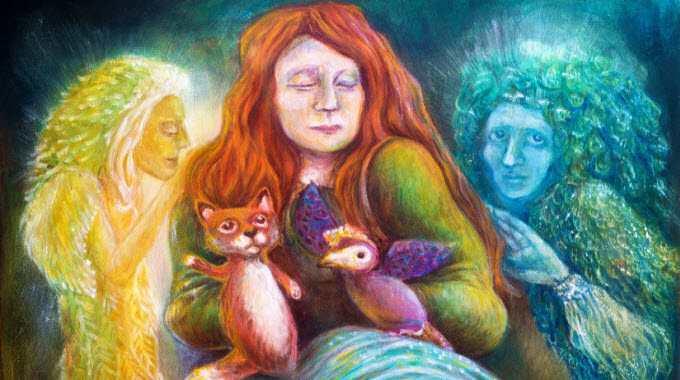 spirit guides - light beings