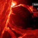 Huge Solar Eruption, Proton Flux | Earth & Space News June 18, 2015