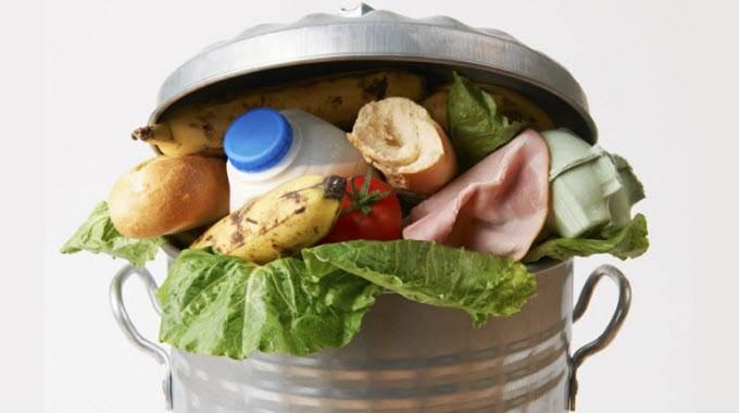 food waste-compressed