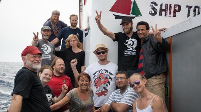 Source: Twitter hashtag #LiveFromFlotilla