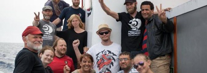 Freedom Flotilla Activists Set Out to Break Israel's Gaza Blockade