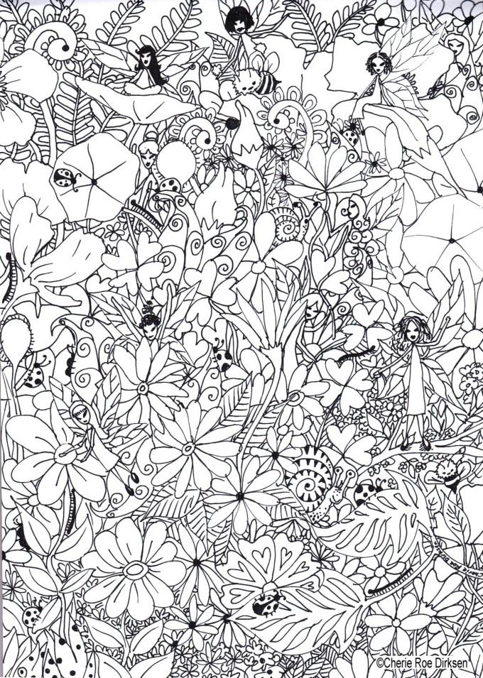 Fairy Garden by Cherie Roe Dirksen lr