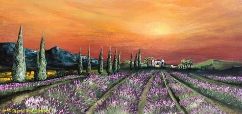Lavender Field by Cherie Roe Dirksen header