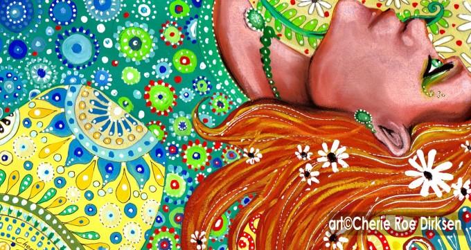 Ginger Goddess by Cherie Roe Dirksen