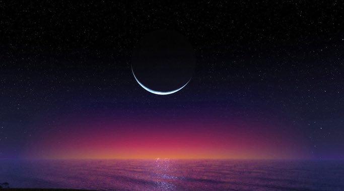 beautiful new moon