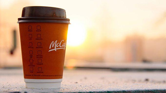 mcdonalds coffee