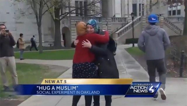 hug a muslim