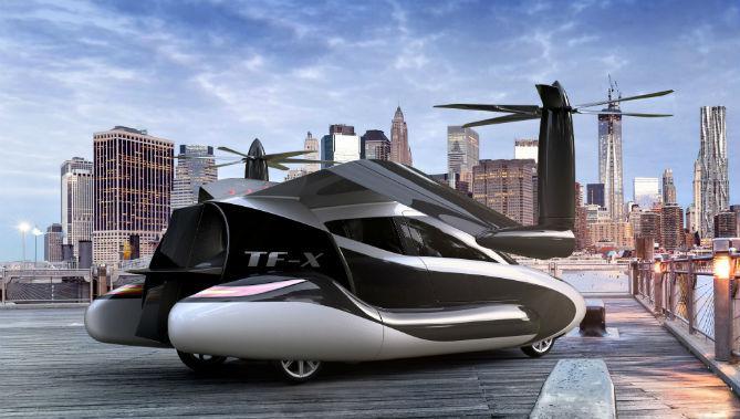 auto-pilot flying-car