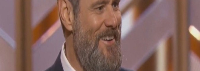 Watch Jim Carrey Mock The System That is Telling Us We're Not Enough