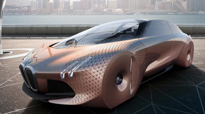 BMW self driving concept car