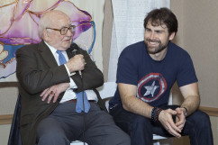 """Actor/Activist Ed Asner weighs in on what's """"Behind the Matrix"""" with Sean Stone."""