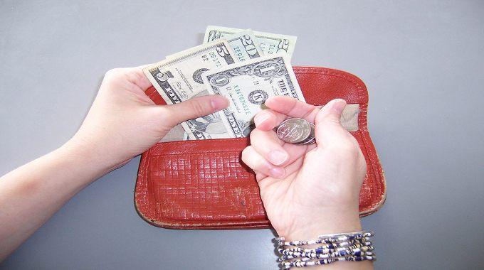 Money in purse-compressed