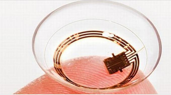 Welcome To The Future This Smart Contact Lens Has A Built In Camera