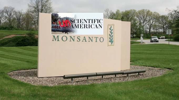 scientific american in bed with monsanto