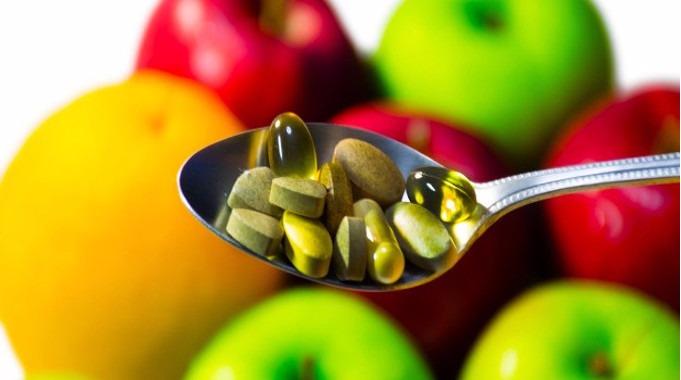 Pills supplements food-compressed