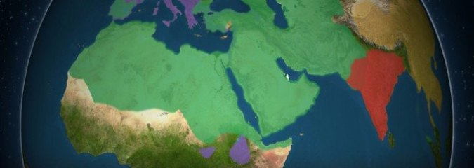 2-Min Animated Video Shows How Five of the Biggest Religions Spread Across the World