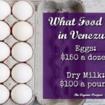 What Food Costs in Venezuela: Eggs $150 a Dozen, Dry Milk $100 a Pound