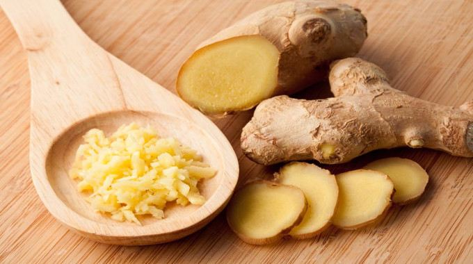 Forms of ginger-compressed