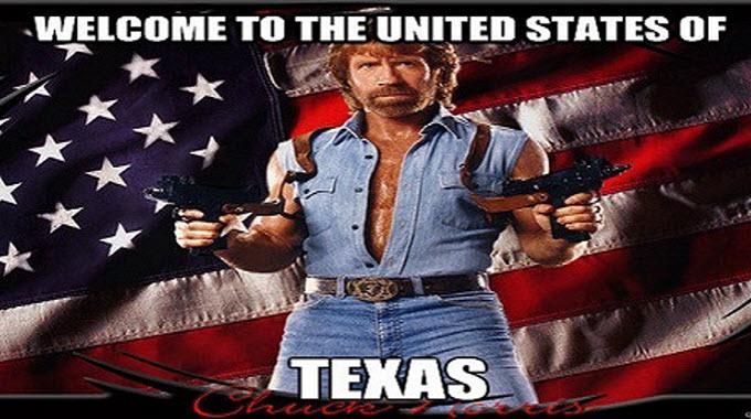Texas leave US