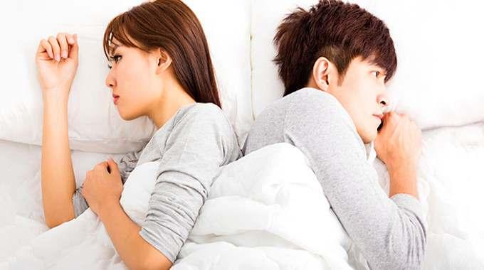 sleeping people couple relationship mad angry