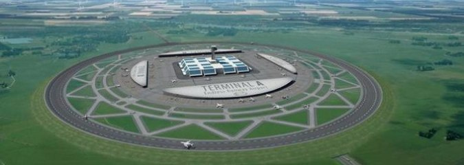 Circular Runways Could Cut Airline Fuel Consumption and Reduce Noise, But Will They Take Off?