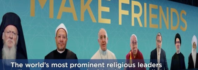 World's Top Religious Leaders Unite to Issue an Urgent Message to Humanity
