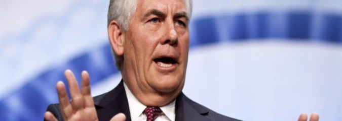 Exxon Fined $2M for 'Reckless Disregard' of Sanctions During Tillerson Era