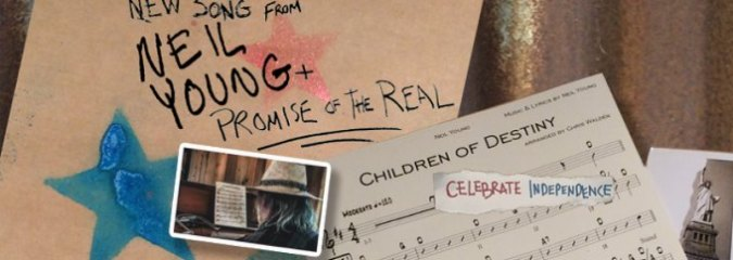 """Resist the Powers That Be: Neil Young Premieres Music Video For New Protest Song, """"Children Of Destiny"""" [WATCH]"""