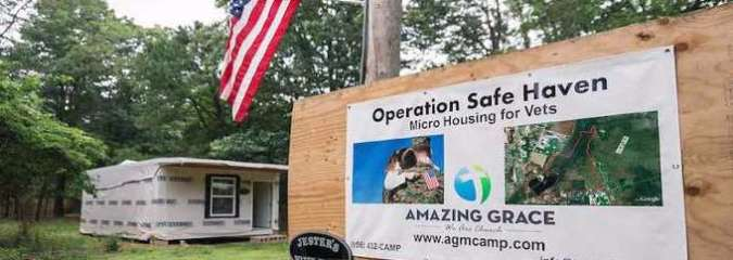 Veteran With PTSD is Creating Free Tiny House Community for Others Like Him