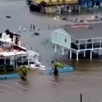 Shocking Drone Footage Shows Harvey's 'Unprecedented' Devastation of Houston