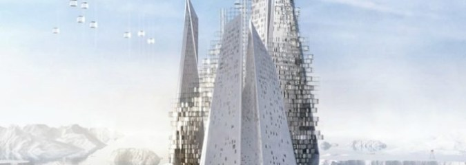 Floating Skyscraper Concept Purifies the Air By Turning Carbon Dioxide Into Fresh Air