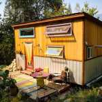 Spacious Feeling, Colorful Tiny House with Unique Curved Staircase Built for Just $21,000