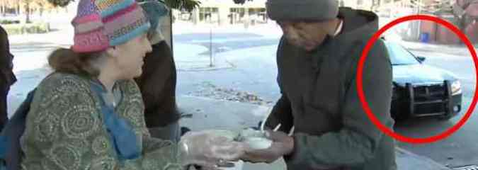 Good Samaritans Shutdown, Ticketed for Feeding Homeless During Thanksgiving Holiday