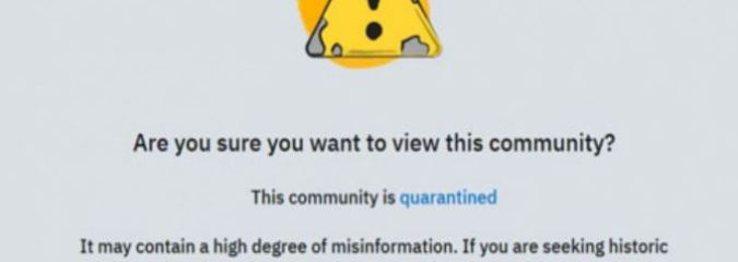 "Reddit Now ""Quarantining"" Users Who Question 9/11—Direct Users to Gov't Site Instead"