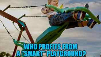 """Smart"" Playgrounds Emerge While Reports Indicate Kids Already Suffer From Too Much Tech"