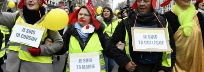 Denouncing Focus on Violence, Women March in France to Reclaim Anti-Austerity Message of 'Yellow Vest' Movement
