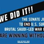 'This Is Historic': US Senate Passes War Powers Resolution to End Complicity in World's Worst Humanitarian Crisis